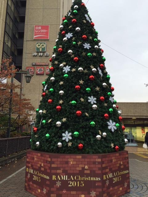 飯田橋のクリスマスイルミネーション