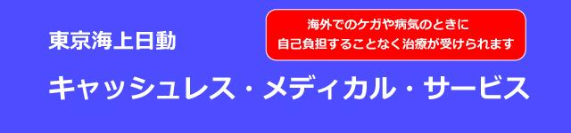 東京海上日動 キャッシュレス・メディカル・サービス