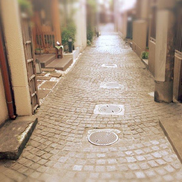 神楽坂の素敵な路地