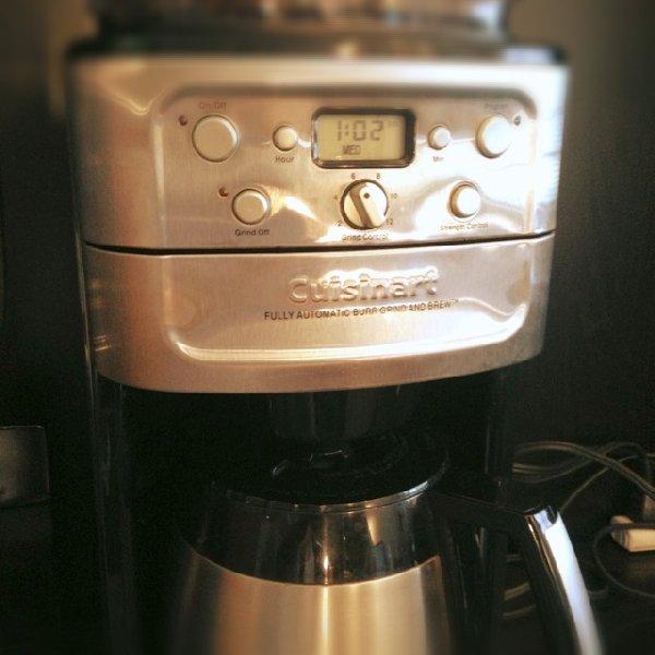クイジナートのコーヒーメーカー