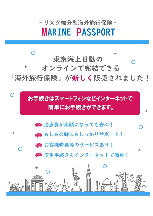 東京海上日動の新しい海外旅行保険~リスク細分型~が発売!